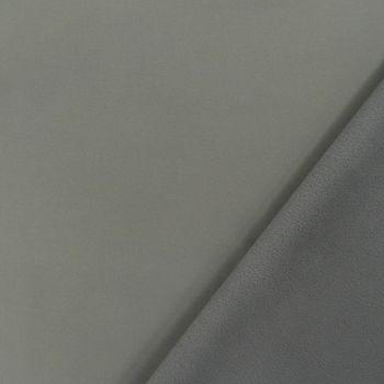 Bekleidungsstoff Softshell Fleece grau