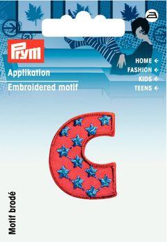 Prym Applikation Buchstabe C ca. 2,5x3cm