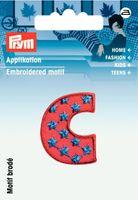 Prym Applikation Buchstabe C ca. 2,5x3cm 001