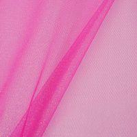 Faschingsstoff Tüll Glitzertüll pink Glitzer 1,5m Breite 001