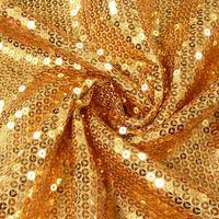 Pailletten Stoff goldfarbig 1,5m Breite