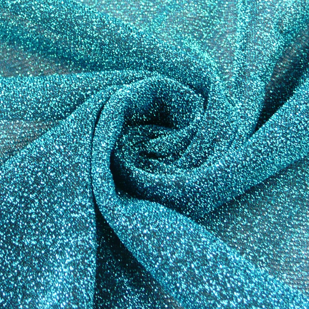 Lurex elastisch Glitzer lila 1,5m Breite