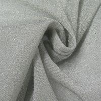 Lurexstoff Glitzerstoff Faschingsstoff elastisch Glitzer silberfarbig 1,5m Breite