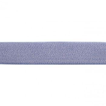 Gummi Band royalblau meliert Meterware Breite: 4cm