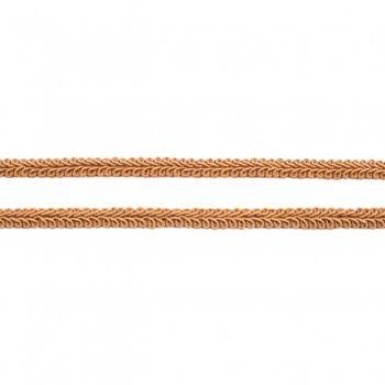 Zierband Galonband sand dunkel Breite: 1cm