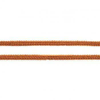 Zierband Galonband rostbraun Breite: 1cm