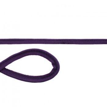Jersey Paspelband violett Meterware Breite: 1cm