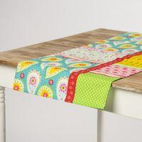 Schöner Leben Tischläufer Paisley Patchwork bunt 40x160cm