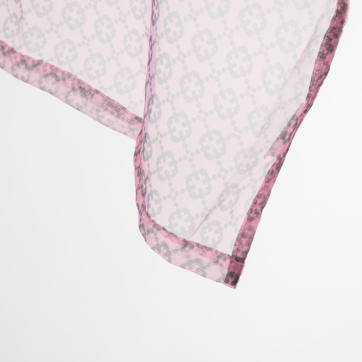 fertiggardine sengardine voile rosa grau muster 135x260cm gardinen fertiggardinen senschals. Black Bedroom Furniture Sets. Home Design Ideas