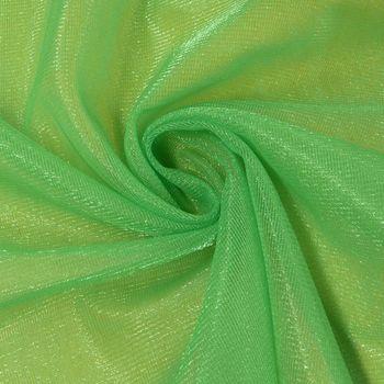 Tüll weich Schimmer grün 1,5m Breite