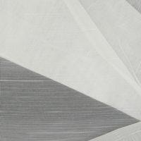 Stores Dreher Längsstreifen weiß mit Bleiband 260cm hoch 001