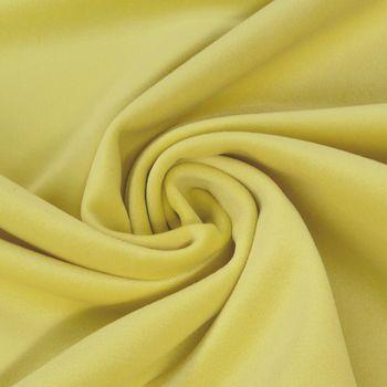 Bezugsstoff Polsterstoff Samtstoff Samt pastell gelb