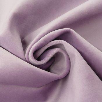 Bezugsstoff Polsterstoff Samtstoff Samt pastell flieder lila – Bild 2