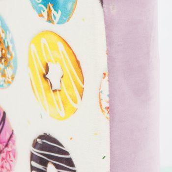 Bezugsstoff Polsterstoff Samtstoff Samt pastell flieder lila – Bild 7