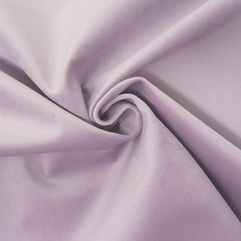 Bezugsstoff Polsterstoff Samtstoff Samt pastell flieder lila – Bild 1
