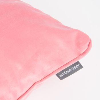 Bezugsstoff Polsterstoff Samtstoff Samt pastell rosa – Bild 2