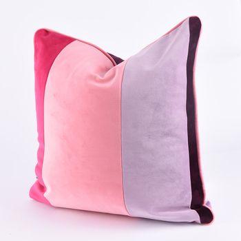 Bezugsstoff Polsterstoff Samtstoff Samt pastell rosa – Bild 11