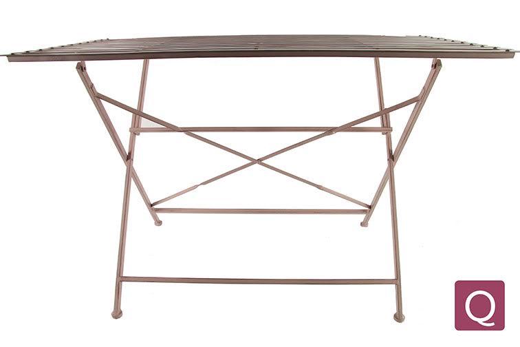 Garten Tisch Metall ADAM rosa 120x74cm Inspirationen Stilwelten ...