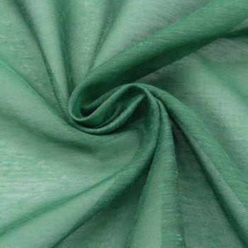 Gardinenstoff Deko einfarbig grün 1,50m Breite