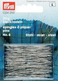 Prym Stecknadeln ST 6 EF silberfarbig 0,60 x 30 mm