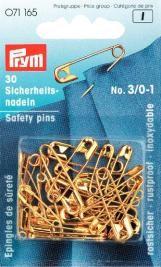 Prym Sicherheitsnadeln MS 105d 3/0-1 goldfarbig