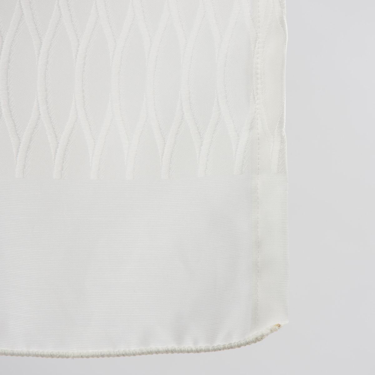 senschal fertigvorhang vorhang oxana wei 137x245cm inspirationen stilwelten skandinavischer stil. Black Bedroom Furniture Sets. Home Design Ideas
