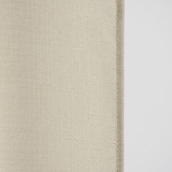 Fertiggardine Ösengardine Struktur uni beige 140x260cm – Bild 4