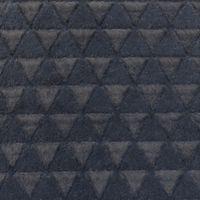 Fellstoff Dreiecke anthrazit 1,70m Breite