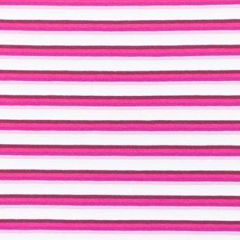Jersey Stoff Streifen schmal rosa pink lila Töne