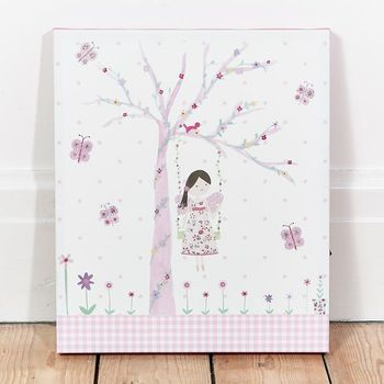 Led Canvas Bild Fee Fairy Blossom 28x33cm – Bild 3