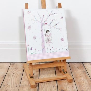 Led Canvas Bild Fee Fairy Blossom 28x33cm – Bild 5