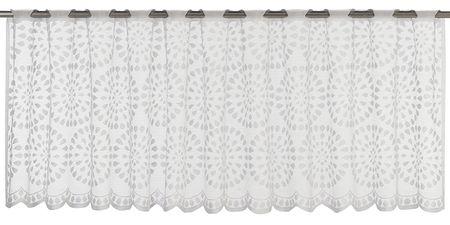 Bistrogardine Panneaux 140x48cm Tupfen weiß – Bild 5