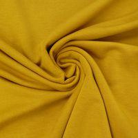 Bekleidungsstoff elastisch Modal einfarbig ocker gelb 001