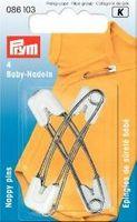 Prym Baby-Sicherheitsnadeln EST weiß 55 mm 001