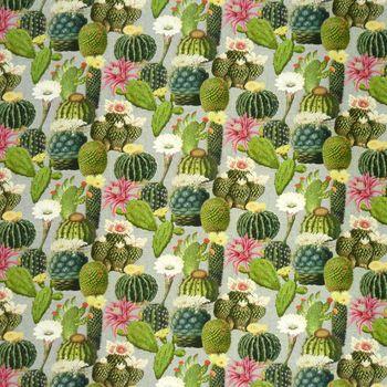Zugluftstopper Kaktus Kakteen grau grün 80 bis 130cm lang – Bild 5