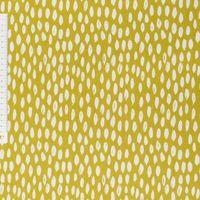 Dekostoff Bayside Honeydew okker gelb weiß 137cm