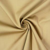 Baumwolle Stoff Meterware Satin Spandex camel 1,45m Breite 001