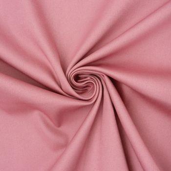 Baumwolle Stoff Meterware Satin Spandex rosa 1,45m Breite