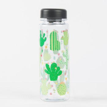 Trinkflasche Wasserflasche Kaktus 19x6cm – Bild 1