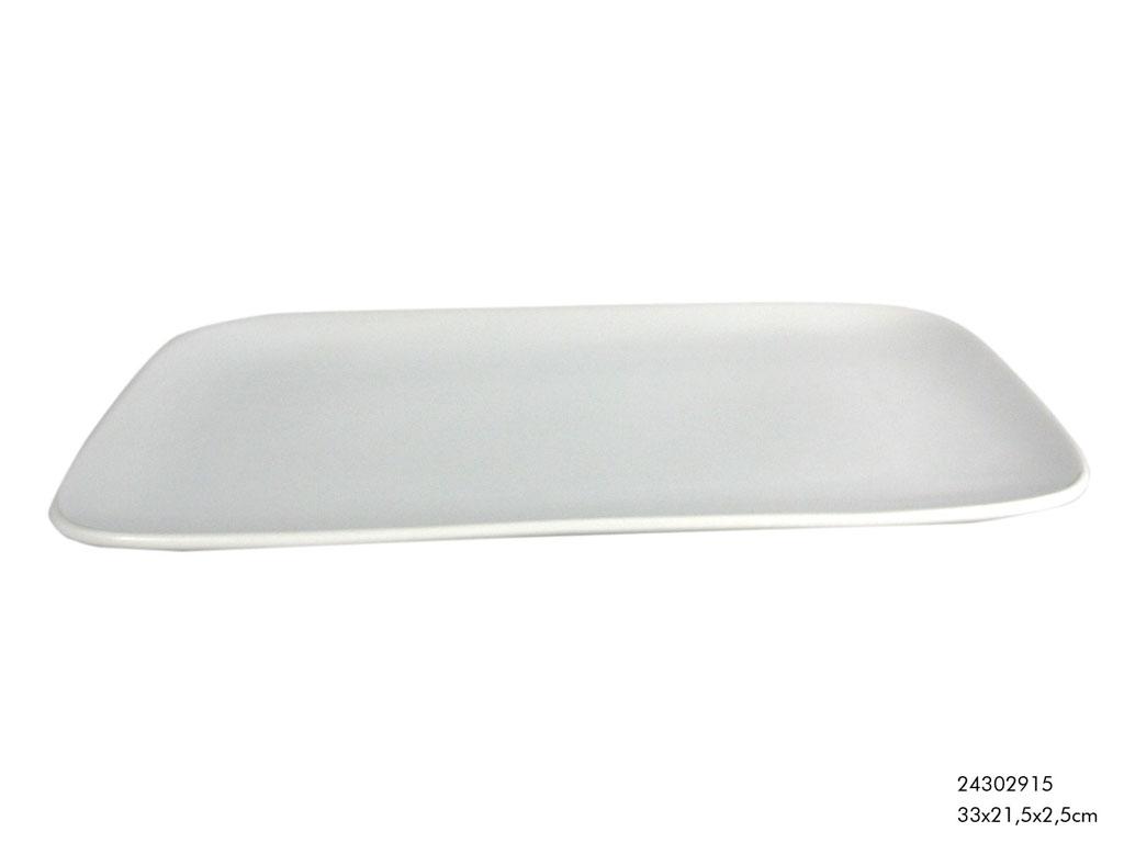 teller tablett servierplatte porzellan wei 33x22cm wohnen kochen und genie en geschirr gl ser. Black Bedroom Furniture Sets. Home Design Ideas
