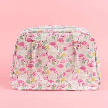 Tasche Reisetasche Flamingo 48x34cm – Bild 1
