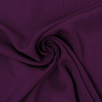 Bekleidungsstoff Meterware Radiance dunkel lila