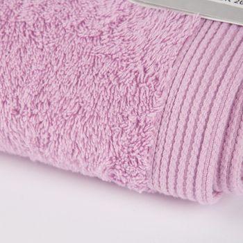 Frottee Handtuch Duschtuch Gästetuch rosa – Bild 2