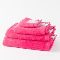 Frottee Handtuch Duschtuch Gästetuch pink