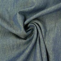 Sommer-Jeansstoff Jeans Denim 4,5OZ dunkelblau gelb meliert