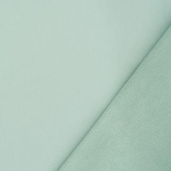 Bekleidungsstoff Softshell Fleece mint