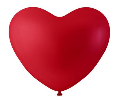Herz Luftballon rot 8 Stück – Bild 1