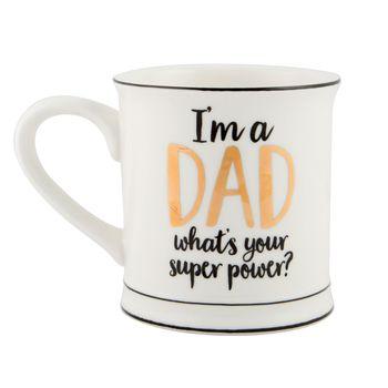 Tasse Kaffeebecher Porzellan I'M A DAD 12x9cm – Bild 5