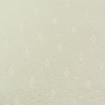 Tischdeckenstoff Tischwäsche Rauten creme 1,60m Breite – Bild 2