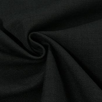 Bezugsstoff Möbelstoff Brooks schwarz